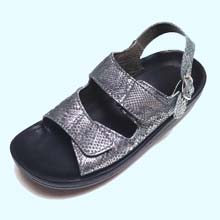 buckle back strap sandal